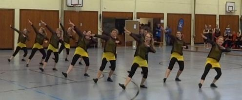 Jazzdance in action